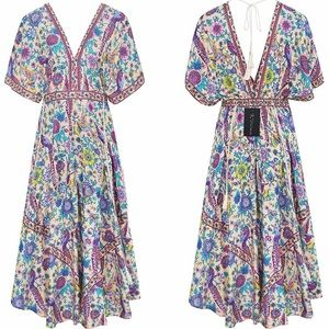 Dresses & Skirts - NWT Stunning Gypsy boho dress size L. Amazing!🌸